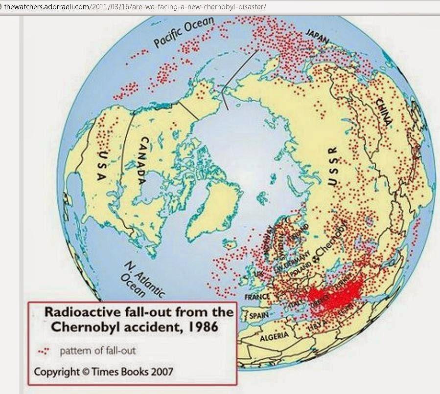 Fukushima annan typ an tjernobyl