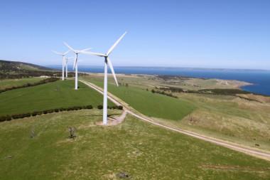 South Australian windpower. Image via Shutterstock