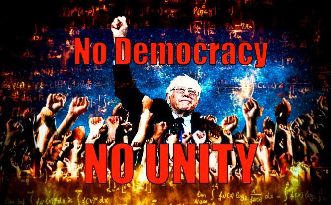 No Democracy, No Unity