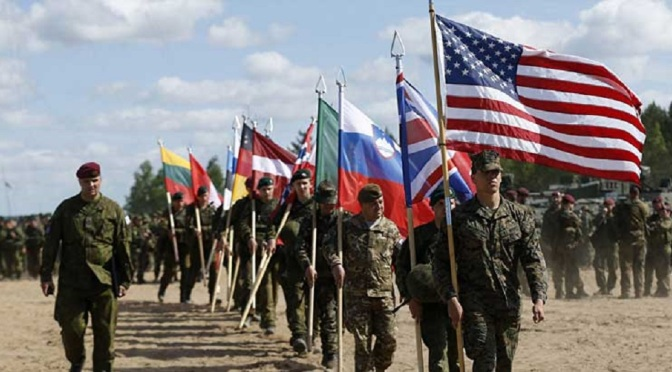 NATO and US Agree to Deploy Military Forces Against Non-Existent Russian Threat
