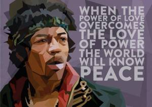 quote love Jimi Hendrix Shift Of The Ages