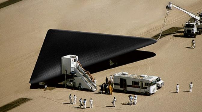A Top Secret Black-Budget Secret Space Program That's Reversed-Engineered Extraterrestrial Technology?
