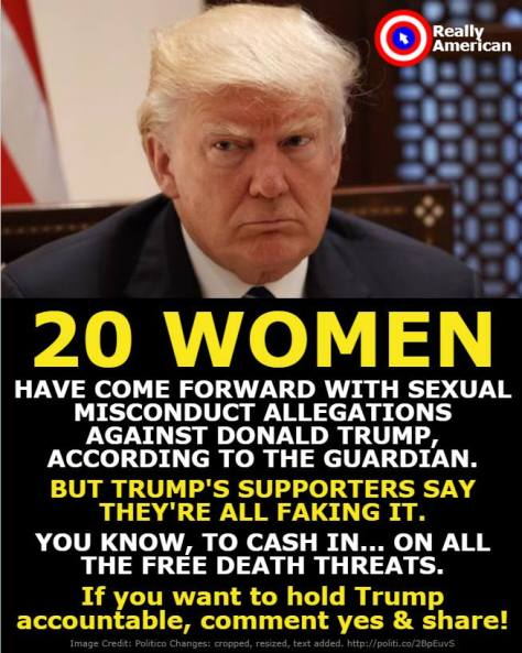 Sexual assault 20 women Trump Edward Rozak