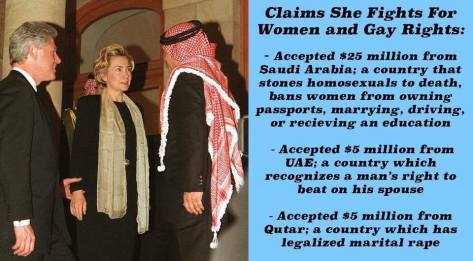 foreign influence in elections USA clinton Saudi Arabia Di Schnell