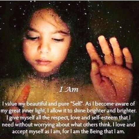 i am inner light respect love self esteem Shannon Beth