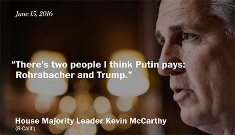 Pulling the Plug on a Putin Puppet – Climate Denier Dana Rohrabacher