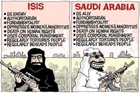 Saudi Arabia ISIS compared Peter Kempenich