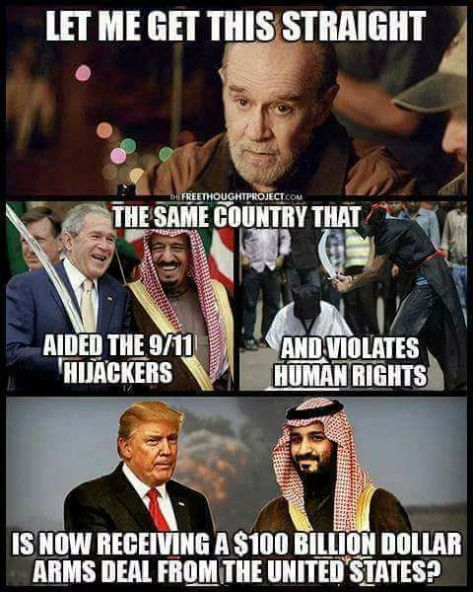 Trump Saudi Arabia Military Weapons Deal Sallie Malone