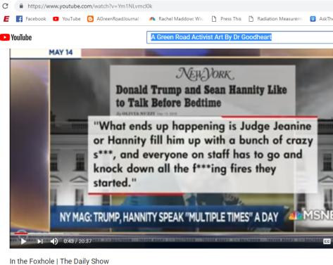 Trump talks with Sean Hannity Multiple Times Per Day Fox News
