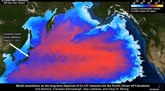 All Fish from Pacific Tested Positive for Fukushima